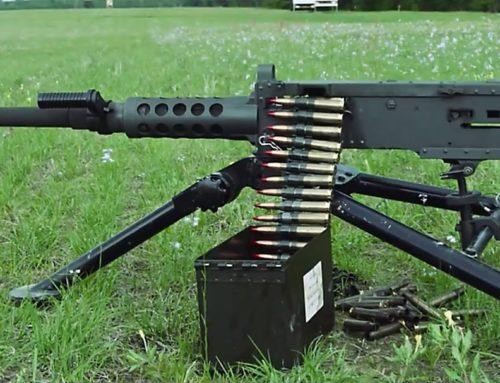 Browning M2 50-es Caliber teszt!