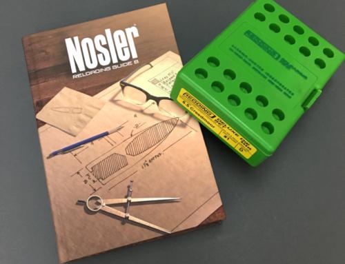 A Nosler kiadta a legújabb kézikönyvét, Újratöltési útmutató #8