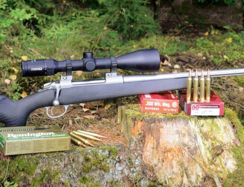 A szuperkönnyű SAKO 85 Carbonlight .300 Winchester Magnum kaliberű puskát teszteltük