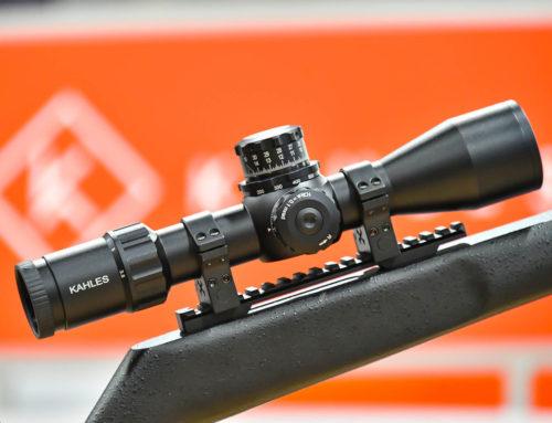 KAHLES K318i 3,5-18x50i: rövid céltávcső sportlövészek számára