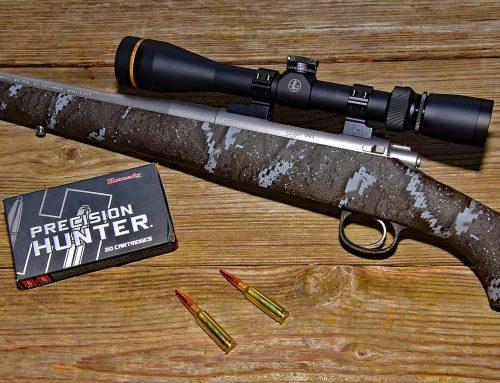 Puska Ismertető: Kimber Hunter Pro Desolve Blak puska